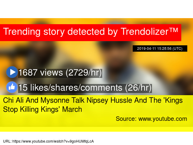 Chi Ali And Mysonne Talk Nipsey Hussle And The 'Kings Stop