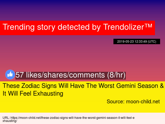 These Zodiac Signs Will Have The Worst Gemini Season &