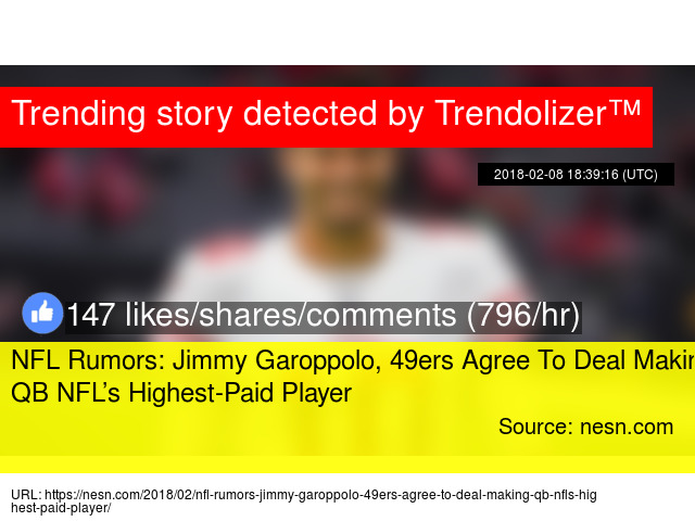 4f3beff37 NFL Rumors  Jimmy Garoppolo
